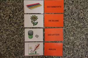 Wortschatzkarten